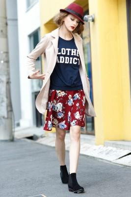 ティティベイトの都会的なファッションが個性的で大人可愛いと評判