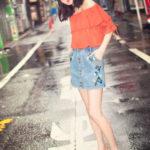 コーデのしやすいデニムの夏コーデは薄色!夏らしく可愛い女の子スタイル♡